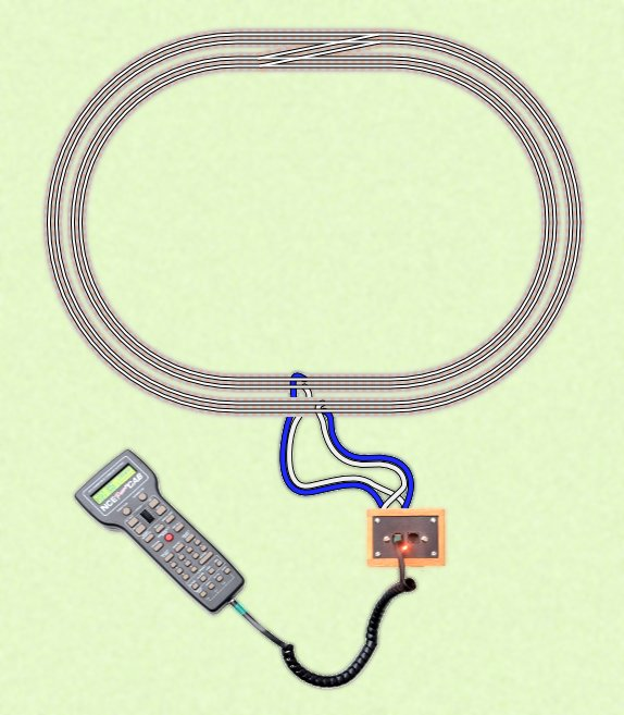 wiring for t trak t trak model railroading because dcc enables you to run multiple trains independently from the same power source there s no need to have separated loops of track to easily run