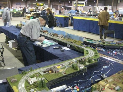 Model train show timonium fairgrounds schedule